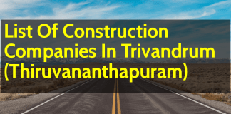 List Of Construction Companies In Trivandrum (Thiruvananthapuram)