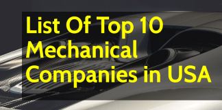 List Of Top 10 Mechanical Companies in USA