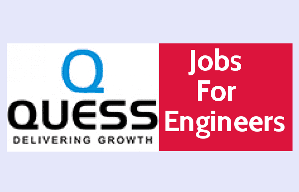 Quess Corp Ltd - Jobs For Engineers