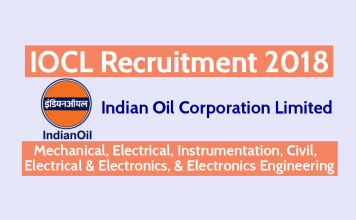 IOCL Recruitment 2018 - Technician Apprentice