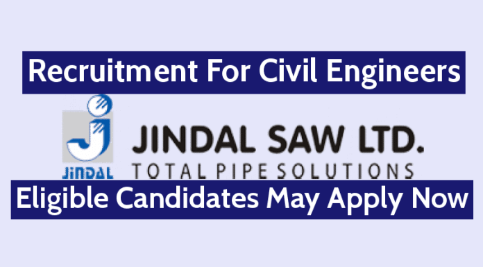 JWIL Infra Limited Recruitment For Civil Engineers Eligible Candidates May Apply Now
