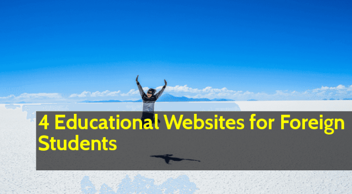 4 Educational Websites for Foreign Students Be Ready for the Best Results