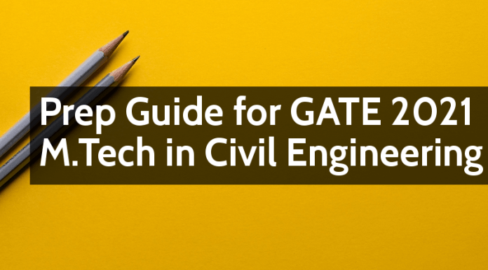 Prep Guide For GATE 2021 For M.Tech In Civil Engineering