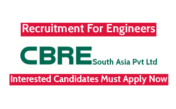 CBRE South Asia Pvt Ltd Recruitment For Engineers Interested Candidates Must Apply Now
