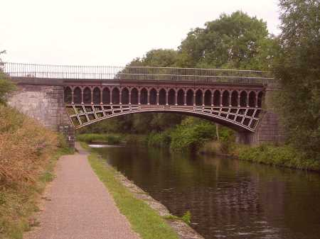 Engine Arm Aqueduct, by Thomas Telford