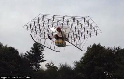 crazy gyro copter