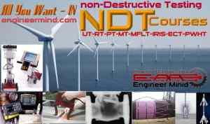 الكورسات والدروس الهندسية في عالم الاختبارات غير الاتلافية او غير التدميرية Non Destructive Testing NDT