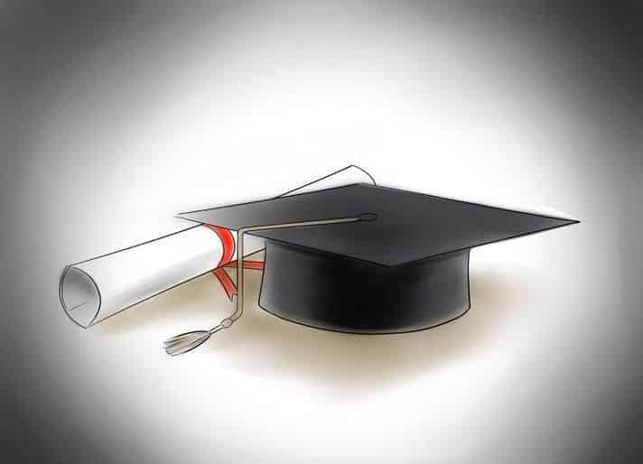 الحصول علي الدرجة الجامعية