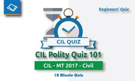 cil polity quiz
