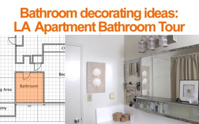 Bathroom Decorating Ideas: LA Bathroom Tour