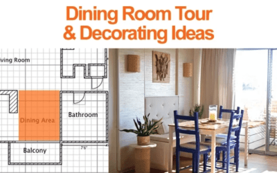 Dining Room Tour and Decorating Ideas