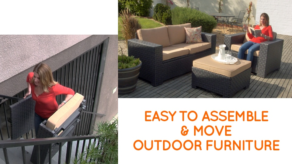 Outdoor furniture perfect for any patio or small balcony