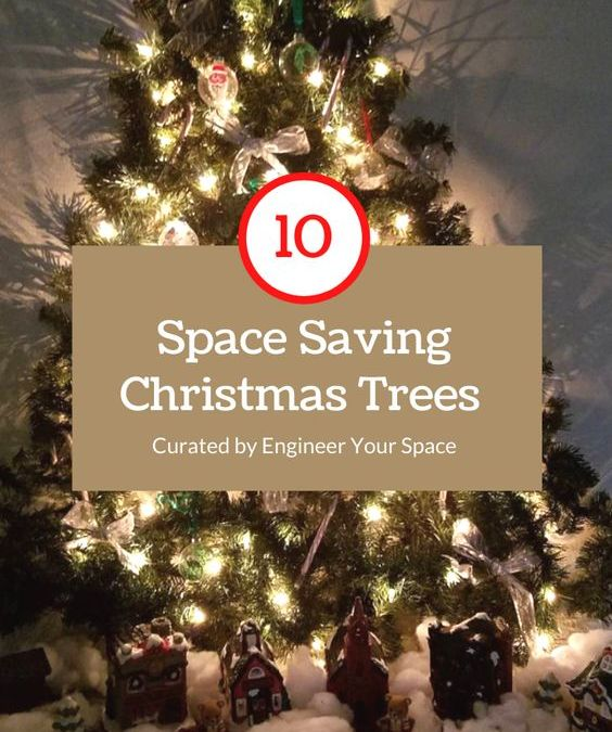 My Top 10 favorite Christmas Tree ideas for small spaces