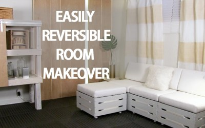 Easily Reversible Basement Renovation