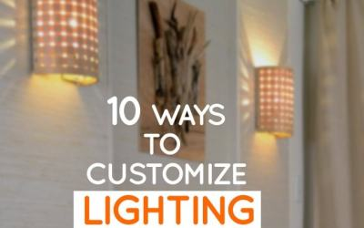 10 ways to customize lighting in any space – no electrician needed!