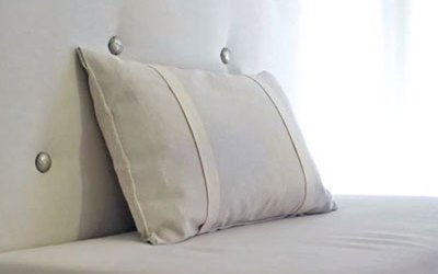 How to make an upholstered panel for a DIY headboard or banquette bench