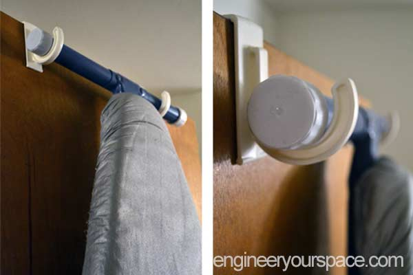 over-the-door-hooks for ironing-board