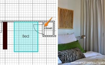 Small apartment furniture layout idea