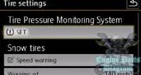 tire pressure reset