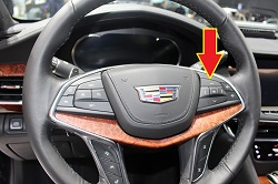 cadillac tpms tire pressure reset button