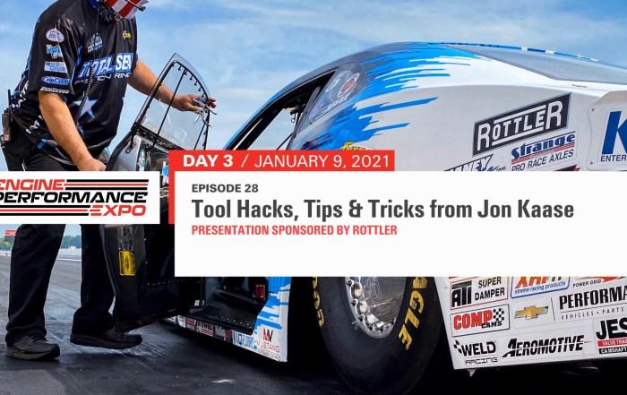 Jon Kaase tool hacks, tips & tricks