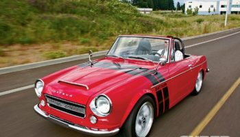 For Sale: 1969 Datsun Roadster with a Supercharged KA24DE Inline