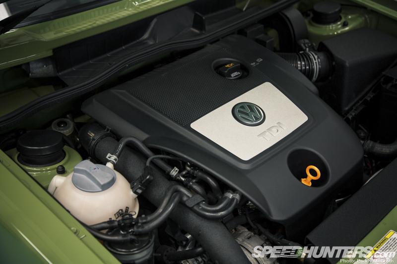 Volkswagen Golf MK1 Powered by Audi A3 Diesel