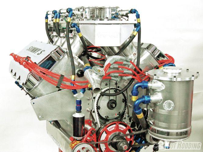 The Godfather motor - 16.3 L 1005 ci big-block V8