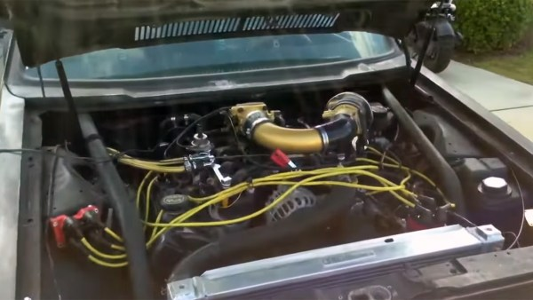 VW Caddy with a 5.4 L Ford V8