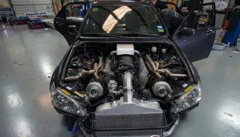 Lexus IS300 with a Twin-turbo LSx Update – Engine Swap Depot