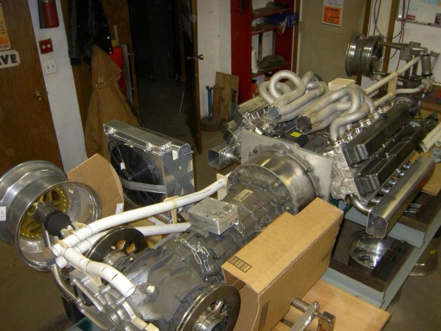 V12 From Two Toyota I6 Engines drivetrain