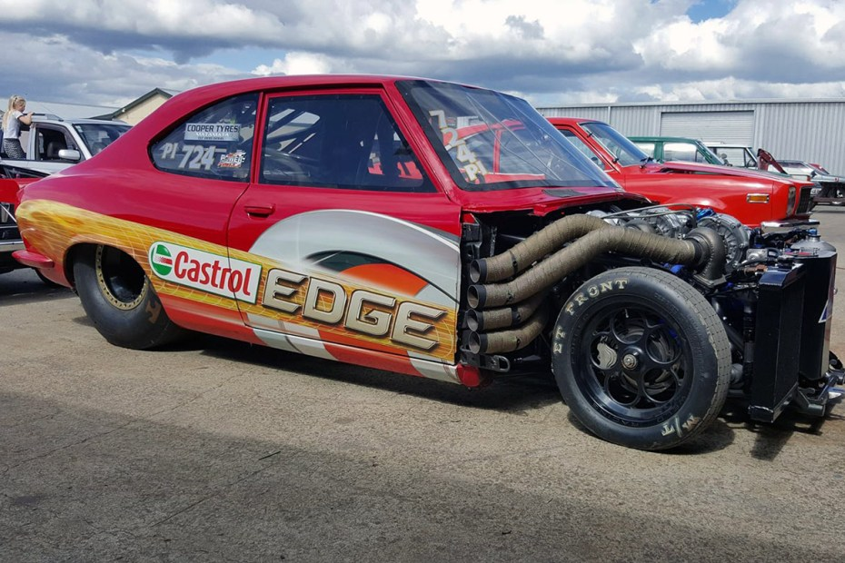 Mazda RX2 with a Quad-turbo Four-rotor Engine