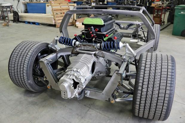 De Tomaso Pantera with a Twin-turbo 428 ci Windsor V8