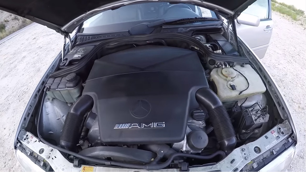 Mercedes C43 Amg With A 5 4 L V8 Engine Swap Depot