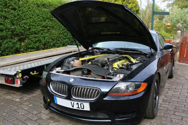 BMW Z4 with a Dodge SRT-10 Viper V10