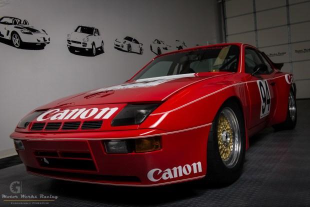 Motor Werks Racing Porsche 924 GTR Canon Tribute