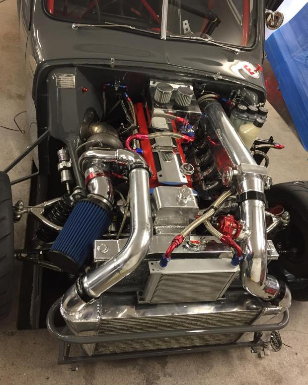 1953 Volvo PV444 with a 2JZ-GTE
