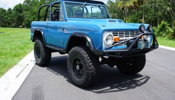 1972 Bronco Icon With A Coyote V8 Engine Swap Depot