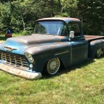 For Sale 1955 Chevy With A Lsx V8 Engine Swap Depot