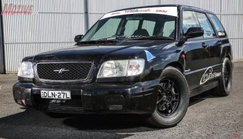 2001 Forester with an EJ207 Turbo Flat-Four – Engine Swap Depot