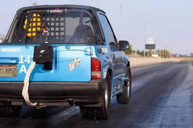 1995 Geo Tracker with a Twin-Turbo V8