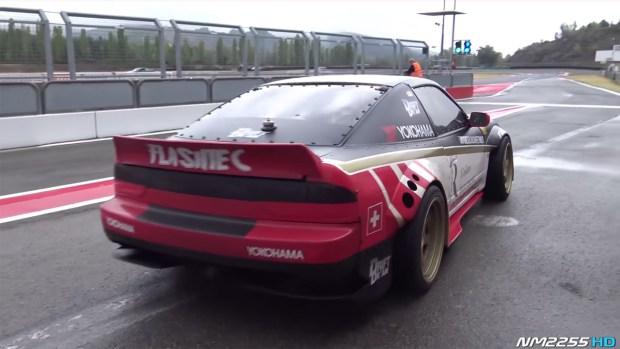 Nissan 200SX with a 3.8 L VR38DETT V6