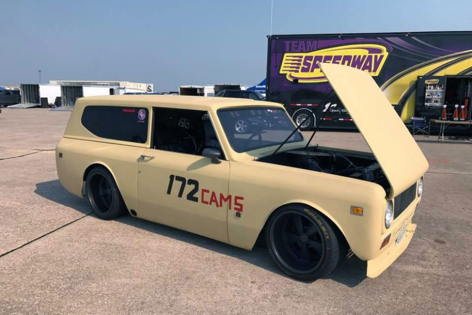 1972 International Scout II with a Chevy V8 and S10 chassis