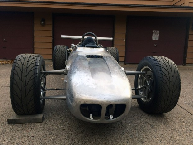 Home built F1 race car with a custom V12 from two Toyota 1JZ engines