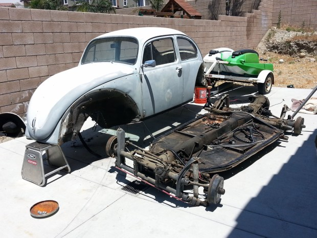 Bugzilla 1970 VW Bug with a supercharged Ecotec inline-four