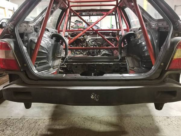 1994 Honda Accord wagon with a RB25DET inline-six