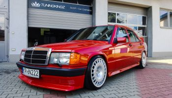 For Sale: Mercedes 190E with a Supercharged M111 Inline-Four