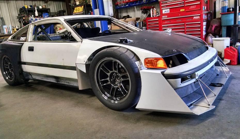 RWD Honda CRX with a J-series V6