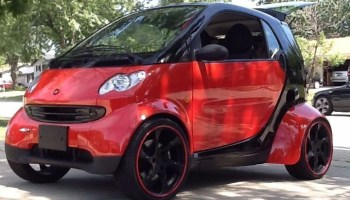 Smart Fortwo with a Turbo Hayabusa Motor – Engine Swap Depot