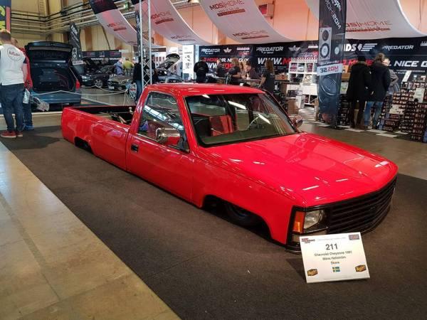 Chevrolet Cheyenne with a Turbo Alfa Romeo Flat-Four